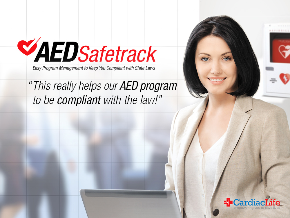 AED Tracking with AEDSafetrack