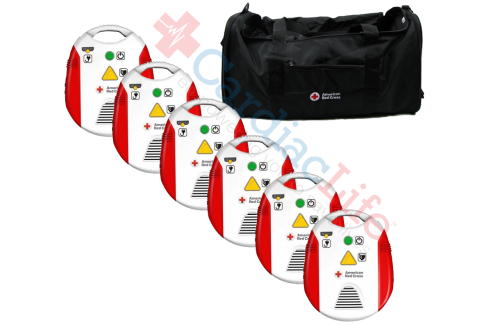 AED Trainer with Metronome 6 Pack