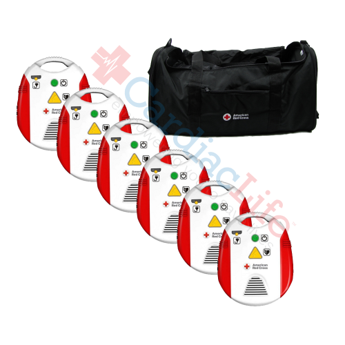 AED Trainer with Metronome 6 Pack | Cardiac Life