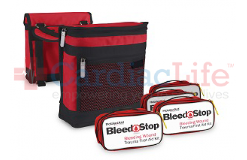 BleedStop Ride-Along 100 Bleeding Wound Trauma First Aid Saddlebags