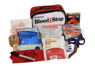 Bleedstop Single 100 IR Bleeding Wound Trauma First Aid Kit
