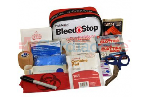 Bleedstop Single 100 IR Bleeding Wound Trauma First Aid Kit