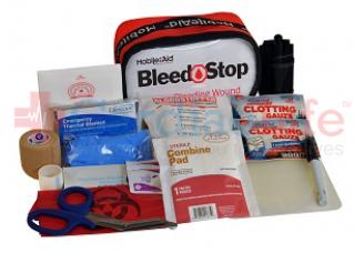 Bleedstop Single 300 IR Bleeding Wound Trauma First Aid Kit