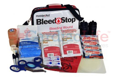 Bleedstop Double 300 OTS Bleeding Wound Trauma First Aid Kit