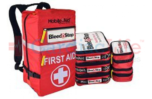 Bleedstop Reflex 200 Multiple-Casualty Bleeding Wound Trauma First Aid Backpack