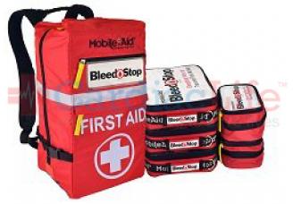 Bleedstop Reflex 300 Multiple-Casualty Bleeding Wound Trauma First Aid Backpack