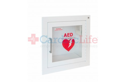 Fully Recessed Steel AED Cabinet