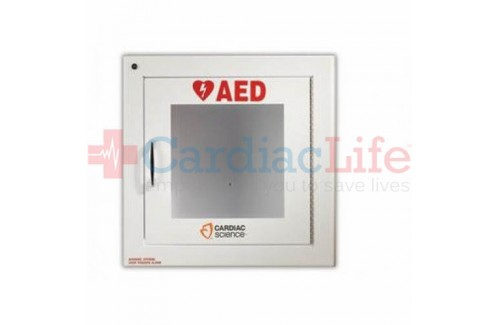 Cardiac Science Standard Size AED Cabinet with Audible Alarm