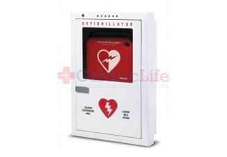 Semi-Recessed Philips HeartStart AED Cabinet