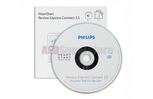 Philips HeartStart Review Express Connect Software