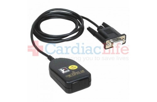 IR Communications Cable for Cardiac Science Powerheart AED G3 Pro and CardioVive DM