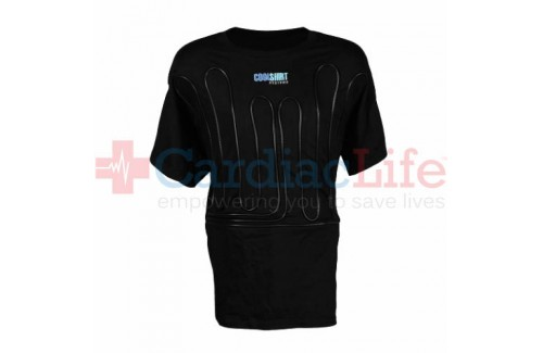 COOLSHIRT Black 2Cool Water Shirt