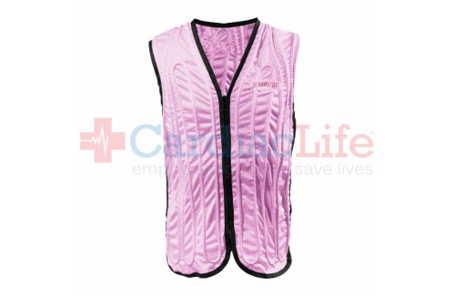 COOLSHIRT Premium CoolVest - Breast Cancer Edition