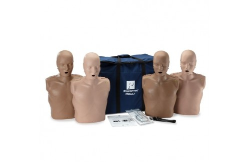 Prestan Professional Adult Diversity Kit CPR Training Manikins with CPR Monitor - 4 Pack