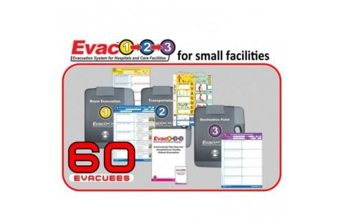 Evac123® Small Hospital/Facility Evacuation 60 Package - HICS / NHICS Compliant