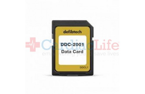 Data Card for Defibtech Lifeline VIEW/ECG AED