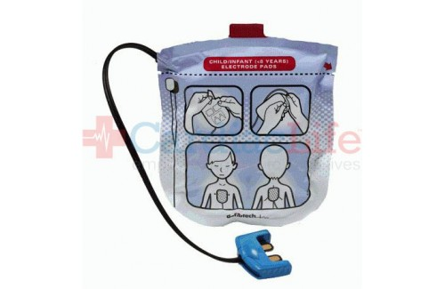 Defibtech  Pediatric Pads for Lifeline VIEW AED and ECG AED