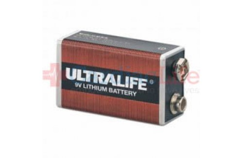 Defibtech Lifeline AED Lithium 9V Battery for Self Checks