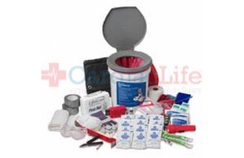 LifeSecure Secure-In-Place 25-PERSON Office Emergency Shelter-In-Place Kit (10001)