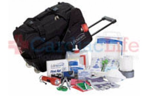 LifeSecure Stay-Or-Roll 4000 4-PERSON 3-DAY Evacuation & Shelter-In-Place Emergency Kit (82400)