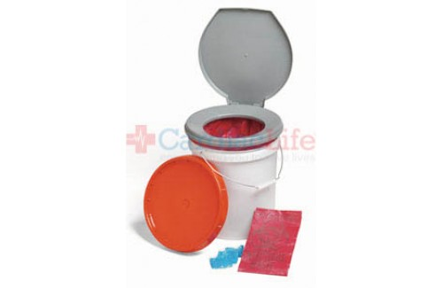 LifeSecure Store-A-Potty 72-Hour Emergency Toilet Kit (60400)