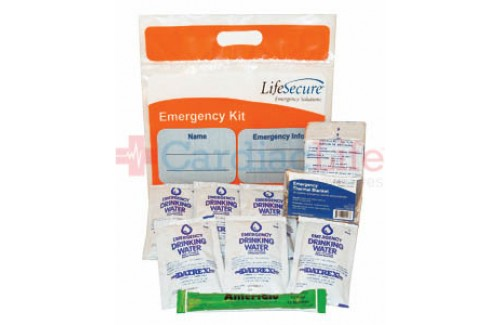 LifeSecure Student & Staff 3-Day Emergency Kit (21100) (Set of 10)