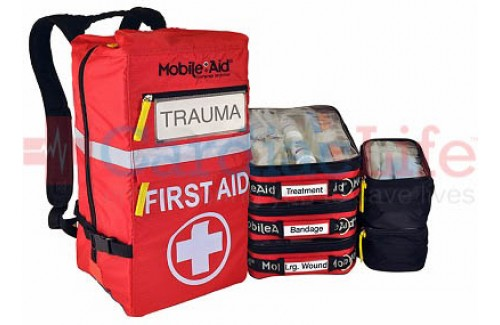 LifeSecure Reflex 200 Trauma First Aid Backpack (31734)