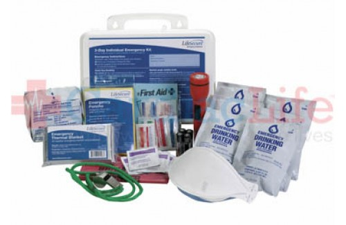 LifeSecure Individual 3-Day Emergency Kit  (41130) (Set of 30)