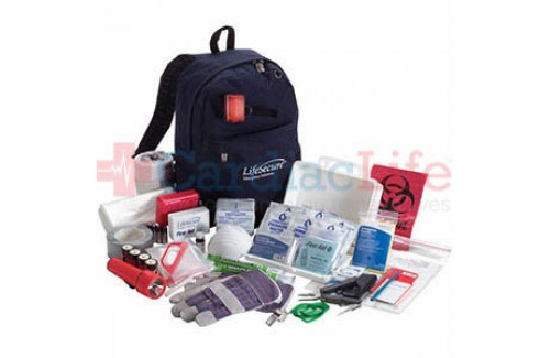 LifeSecure Stay-Or-Go 1000 1-PERSON 3-DAY Evacuation & Shelter-In-Place Emergency Kit (80100)