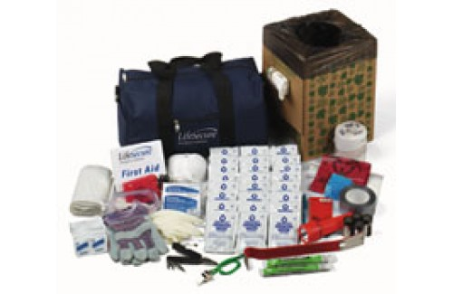 10-PERSON Office Evacuation and Shelter-In-Place Emergency Kit (10100)