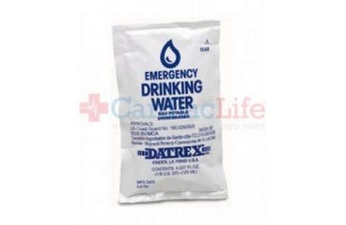 4 oz. Emergency Drinking Water (64 pouches) (70001) (Set of 6 )
