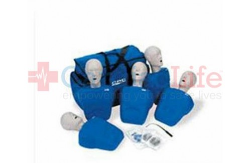 CPR Prompt  Manikins 7-Pack BLUE  w/ Carry Bag