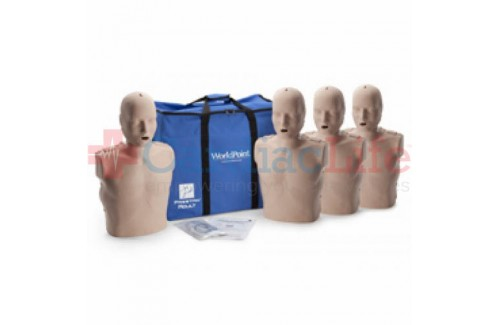 Prestan Adult Manikin 4-Pack w/ CPR monitor
