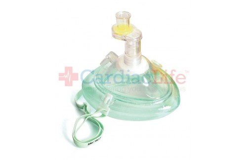 Laerdal Pocket Mask with O2 Inlet & Headstrap in Polybag