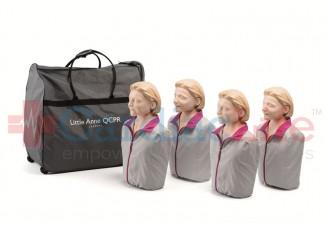 Laerdal Light Skin Little Anne QCPR 4-Pack