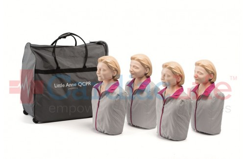 Laerdal Light Skin Little Anne QCPR 4-Pack