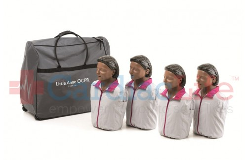 Laerdal Dark Skin Little Anne QCPR 4-Pack