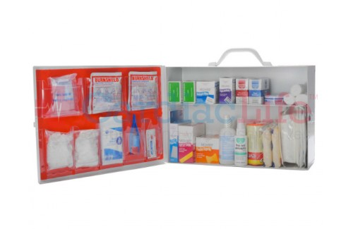 First Aid Kit Industrial 2 Shelf OSHA Approved Fill