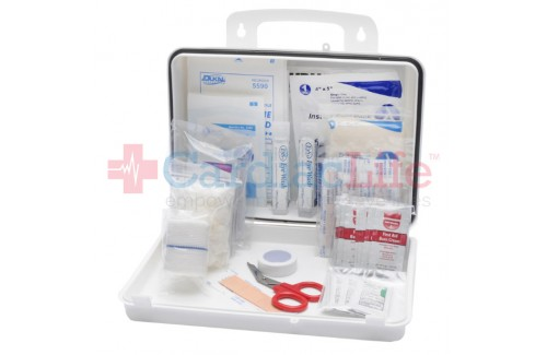 First Aid Kit OSHA Class A Fill 16 Plastic