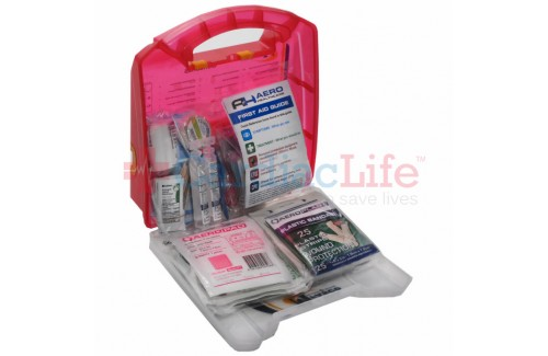 MFASCO First Aid Kit 25 Person Light Plastic