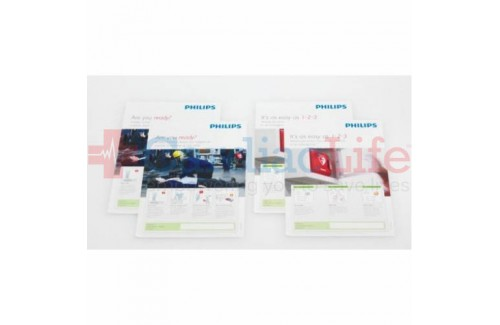 Philips AED Awareness Poster Pack (Four)