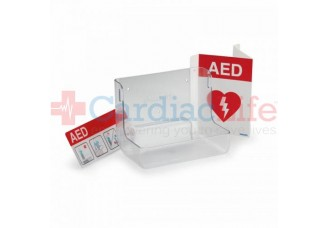 Philips HeartStart AED Wall Mount and AED Sign Awareness Bundle