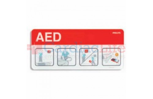Philips AED Awareness Sign