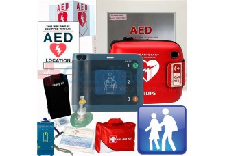 Philips HeartStart FRx AED School and Community Package