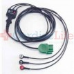 Physio-Control LIFEPAK 1000 ECG/EKG Monitoring Cable, 3-wire (Lead II)