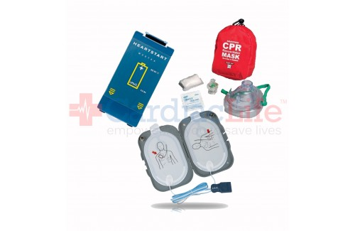 AED Refresher Pack for Philips Heartstart FRx AED