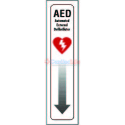 Aed Location Sign 4 Quot X 18 Quot Cardiac Life