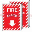 Fire Alarm Sign  2 Sided