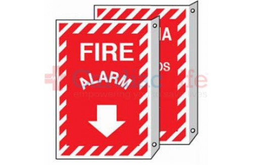 "Fire Alarm Sign 9"" x 12"""