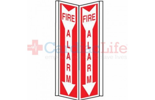 Fire Alarm Tent Sign